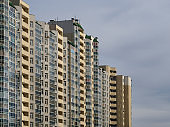 Mass building in Yekaterinburg, Russia