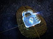 Digital security, fingerprint