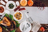 Food composition with baked turkey