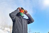 Sportsman in Winter