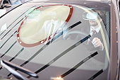 Businessman Driving in VR