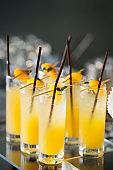 Many Fresh mango cocktail