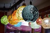Korean traditional paper lantern