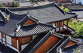 Tile roof of the Korean traditional house