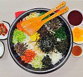 Jeonju Bibimbap for several people to eat together