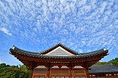 Roof of Korean Traditional Architecture