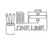 One line design