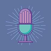 Retro microphone design