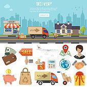 Internet Shopping Banner