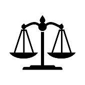 Balance of justice icon