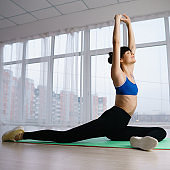 Pilates workout for women