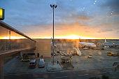 Cairo airport, Egypt