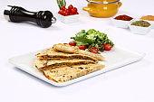 Turkish Traditional Gozleme / Pancake