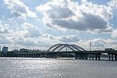 yanghwa bridge and han river