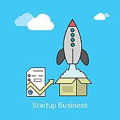 Business startup- Illustration