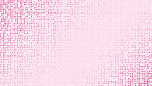 Abstract light pink glittering dotted background
