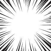 Speed radial lines