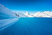 Winter ski resort Zermatt, Switzerland