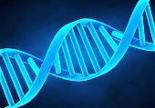 DNA Molecule Illustration