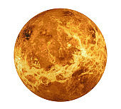 Planet Venus Isolated