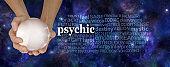 Psychic Powers Word Cloud