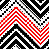 Seamless Zig Zag Pattern. Abstract  Stripe Background
