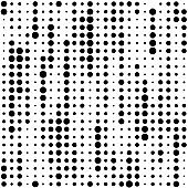Seamless Stripe Pattern. Vector Monochrome Texture