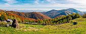 beautiful rural countryside of Romania