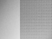 Silver Metal Background With Holes