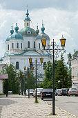 Yelabuga, Tatarstan, Russia. The Spassky Orthodox Cathedral