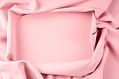 Texture background pattern. Pink silk fabric. Vintage French semi sheer crepe de chine fabric in a stunning lipstick pink color It is heavier weight than the very sheer chiffon but is still semi sheer