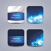 Collection of Christmas Price Tags, Banners