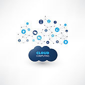Cloud Computing, Internet Of Things Design Concept