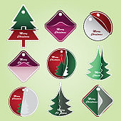 Collection of Christmas Price Tags