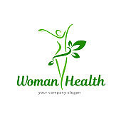 Vector design template. Wellness and woman health