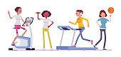 Women fitness club