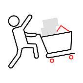 shopping   buying   cart