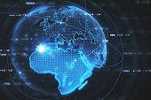 Global business wallpaper