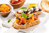 italian appetizer - bruschetta