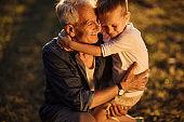 Bonding with granchild