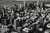 Los Angeles Skyline From Overhead