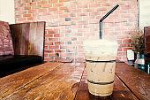 Iced coffee (cappuccino coffee)