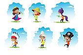: pirate, fairy,