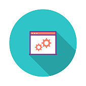 Website Optimization Flat Icon