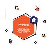 Priorities Infographic Icon