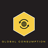 Global Consumption Icon