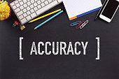 ACCURACY CONCEPT ON BLACKBOARD