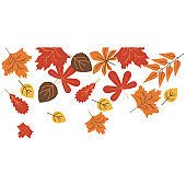 Autumn leaves color icon. Element of Happy Thanksgiving Day illustration. Premium quality graphic design icon. Signs and symbols collection icon for websites, mobile app