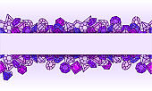 Jewels vector background