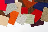 texture multi color fabric